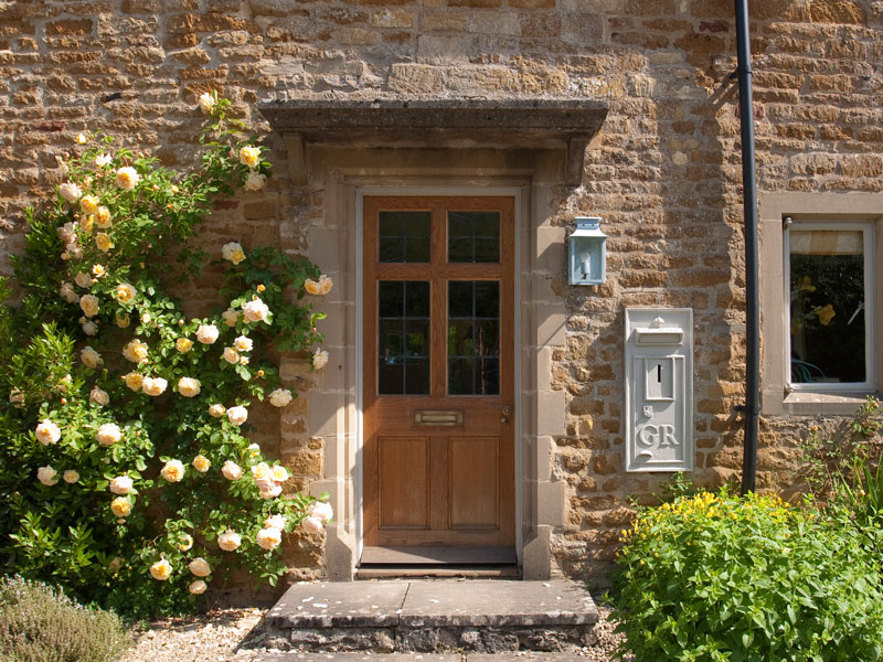 Gammalt Hus I Cotswold Distriktet i England
