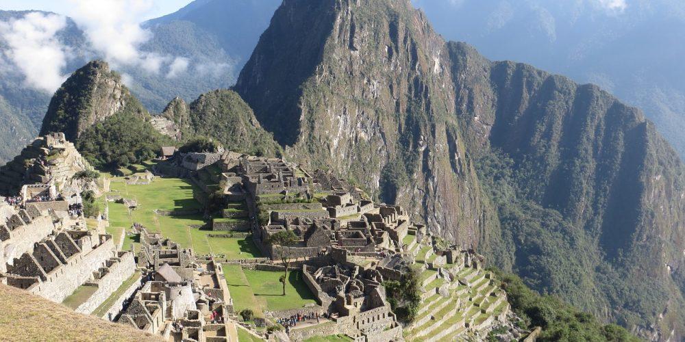 Historiska Helgedomar i Machu Picchu