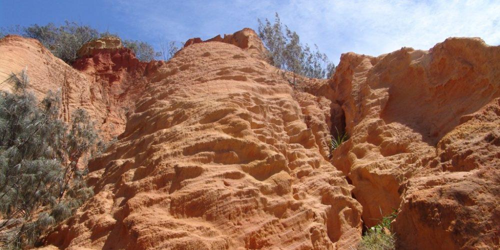 Klippor och berg i Australien