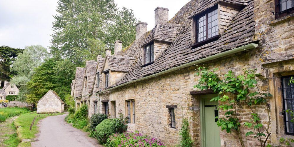 Engelska landsbyggden en saga